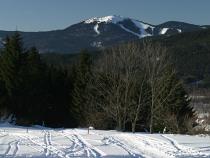 Velký Javor / Großer Arber 1456 m n. m. - nejvyšší vrchol Šumavy