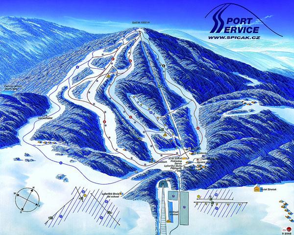 10 tipů na české ski areály