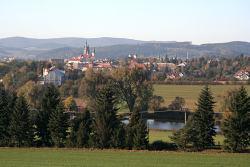 Pohled na Klatovy